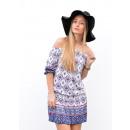 Großhandel Kleider: Kleid, Tunika, Muster, Qualität, Uni, Farben