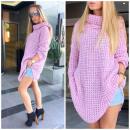 Großhandel Fashion & Accessoires: Boho Pullover,  Golf, Qualität, Hersteller, lila
