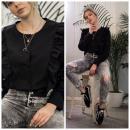 Großhandel Hemden & Blusen: Shirt, Produzent, Qualität, PREMIUM, schwarz
