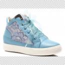 Großhandel Schuhe: Blaue Schuhe  Turnschuhe TRAMPKI FRAUEN