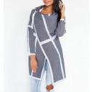 Großhandel Pullover & Sweatshirts: Strickjacke, Jacke, Graphit, S / M