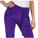 Großhandel Hosen: Hose, leicht leuchtend, unisize, lila