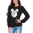 wholesale Sports Clothing: Sweatshirt, print,  producer, black with gray