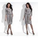 wholesale Dresses: Dress, belt,  flowers, quality, mocca