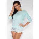 Großhandel Hemden & Blusen: Bluse, Qualität, Produzent, blau
