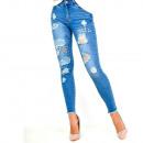 Großhandel Jeanswear: Jeans, dünn, fit, jets, tear