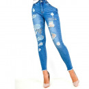 ingrosso Jeans: Jeans, magro, in forma, getti, lacrima