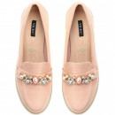 groothandel Schoenen: Schoenen,  mocassins, suède, roze