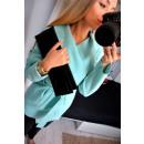 wholesale Coats & Jackets: Coat short, layered, uni, mint