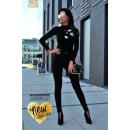 wholesale Erotic Clothing: Luxury Collection  DE LUX, body, badges, black