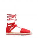 Shoes footwear summer knotted sandals Roman women