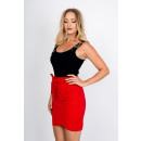 wholesale Skirts: Skirt, mini, tying, quality, red