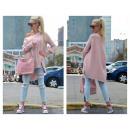 Großhandel Pullover & Sweatshirts: Asymmetrischer Pullover, Zöpfe, verschiedene Farbe