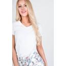 Großhandel Shirts & Tops: T-Shirt glatt, Qualität, Produzent, weiß