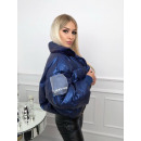 wholesale Coats & Jackets: Down jacket with a large collar, producer