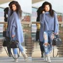 hurtownia Fashion & Moda: sweter, golf,  ciepły, jakość, unisize, jeans