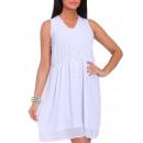 ingrosso Ingrosso Abbigliamento & Accessori: Abito, sciolto,  chiffon, bianco, unisize