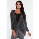 Großhandel Fashion & Accessoires: Pullover  geschichteten  Graphit, Tunika, S ...