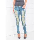 ingrosso Jeans: Pantaloni, tubi,  abrasione, ciottoli, jeans