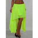 wholesale Skirts: Skirt Neon,  quality, celadon, unisize