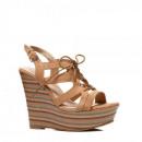 wholesale Shoes: Shoes footwear  summer wedge dark beige