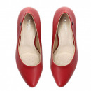 wholesale Business Equipment: High heels, post, leather, red
