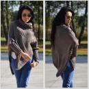 groothandel Kleding & Fashion: Poncho, trui, poncho, col, producer, mocca