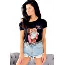 Großhandel Shirts & Tops: T-Shirt , Mama, Kurzarm, schwarz