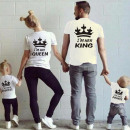 wholesale Fashion & Mode: T-Shirt , HIS  QUEEN, manufacturer, white