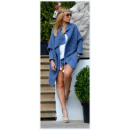 wholesale Fashion & Mode: Sweater,  bedspread, blue,  oversize, hit of ...