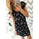 Kleid luftig, neue  Art und Weise, schwarz, ML