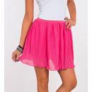 Großhandel Röcke: Minirock plissiert, Qualität, pink, ...