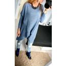 Großhandel Jeanswear: Pullover, Kimono, weit, Uni, Jeans