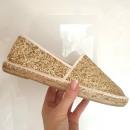 Großhandel Schuhe: Schuhe, Espadrilles, Qualität, Gold