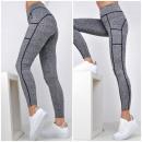 wholesale Stockings & Socks: Melange leggings gaiter pockets