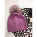 Großhandel Kopfbedeckung: Mütze, Pompon, Produzent, pink