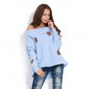 groothandel Kleding & Fashion: Hooded sweater met  strepen, fabrikant, blauw