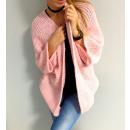 Großhandel Fashion & Accessoires: Strickjacke, midi,  Produzent, unisize, rosa