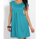 wholesale Fashion & Apparel: Flared dress, Maternity teal