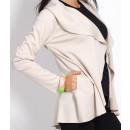 Großhandel Fashion & Accessoires: Strickjacke,  Jacke, Sweatshirt mit Kapuze, ecru, u