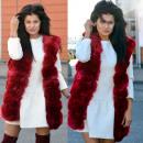 ingrosso Ingrosso Abbigliamento & Accessori: Vest, pelliccia, il calore, bordeaux