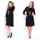 Großhandel Fashion & Accessoires: Kleid, lose,  Schwangerschaft, Qualität, schwarz