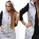 wholesale Coats & Jackets: Vest, bodywear, quality, gray