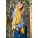 Großhandel Pullover & Sweatshirts: DE LUX Poncho, Produzent, Senf