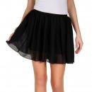 Großhandel Röcke: Minirock, luftig, Sommer, schwarz, unisize