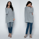 wholesale Shirts & Blouses: Tunic, oversize, quality, producer, gray