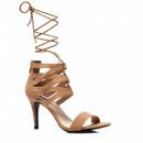 wholesale Shoes: Shoes, tied heels, slacks, heel, camel