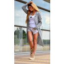 wholesale Fashion & Mode: Hoodie, jacket, cardigan, gray