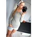 ingrosso Ingrosso Abbigliamento & Accessori: Cardigan, legato  sulla schiena, la qualità, grigio