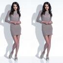 wholesale Dresses: Dress, feminine, fitted, light, mocca